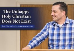 1 Min: The Unhappy Holy Christian Does Not Exist – Ryan Fullerton