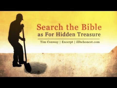 Search the Bible as For Hidden Treasure – Tim Conway (10 min excerpt)