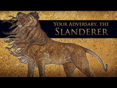Your Adversary, The Slanderer by Charles Leiter