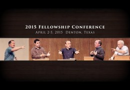 Join Us For the 2015 Fellowship Conference