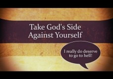 1 Min Video: Take God's Side Against Yourself – Charles Leiter + Full Sermon