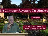 The Christians Adversary The Slanderer