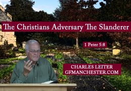 The Christians Adversary The Slanderer