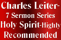 7 Sermons Series: The Holy Spirit By Charles Leiter
