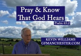 Pray & Know That God Hears – Charles Leiter