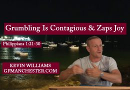 Grumbling Is Contagious & Zaps Joy