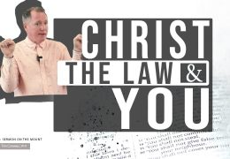 Christ, The Law and You – Tim Conway