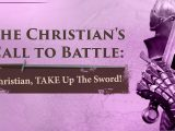 Christian, TAKE the Sword of the Spirit – Tim Conway