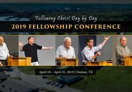 Following Christ Day by Day | 2019 Fellowship Conference Trailer