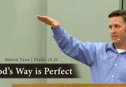 God's Way is Perfect – Mason Vann