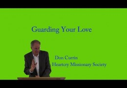 Guarding Your Love – Don Currin