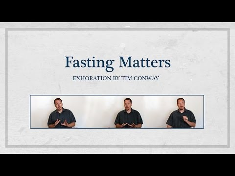 Fasting Matters – Tim Conway (20 min Excerpt)