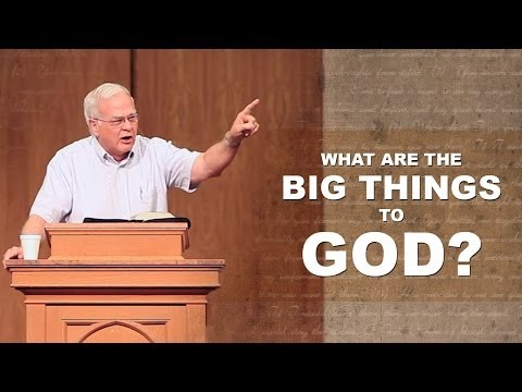 What Are The Big Things to God? – Charles Leiter (4 min excerpt)