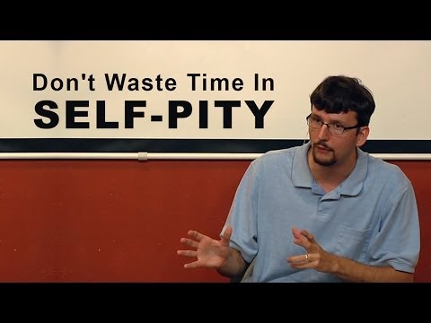 Don't Waste Time In Self-Pity – James Jennings