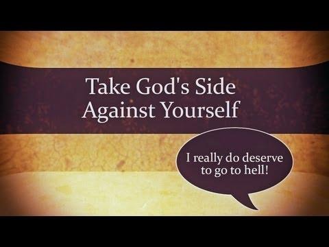 1 Min Video: Take God's Side Against Yourself – Charles Leiter + Full Sermon