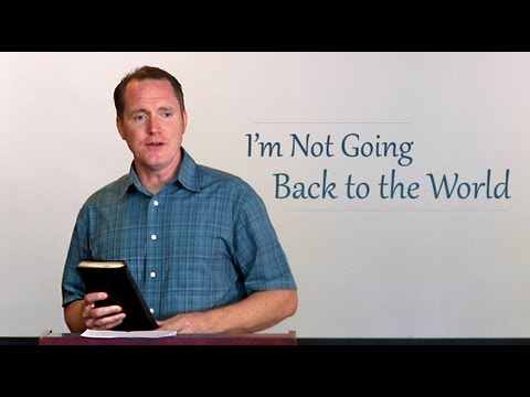 I'm Not Going Back to the World – Tim Conway (6 min)